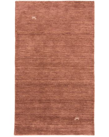 Wool Rug Gabbeh Loom Brown
