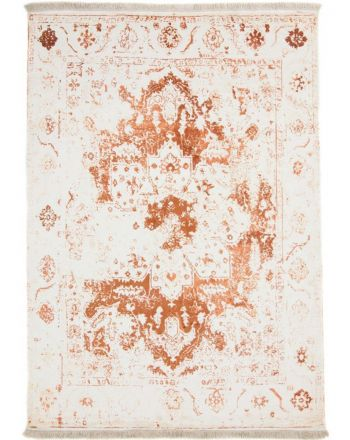 Viscose Rug Visconti rare Orange