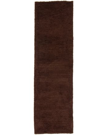 Shaggy Rug Softly Runner Brown