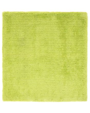 Shaggy Rug Softly Quadratisch Green