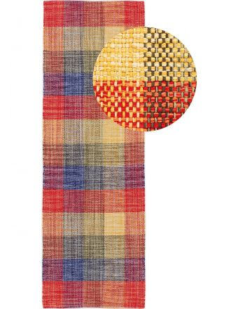 Flat Weave Rug Kilim Ella Runner Multicolored