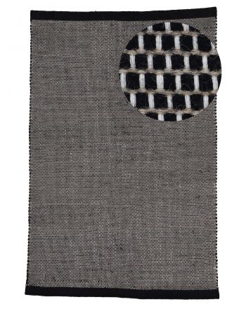 Wool Rug Mona Black