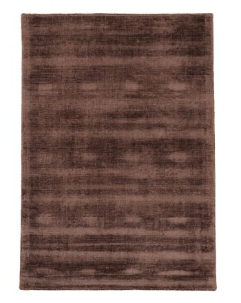 Viscose Rug Ava Dark Brown