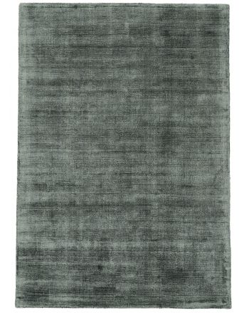 Viscose Rug Ava Dark Green