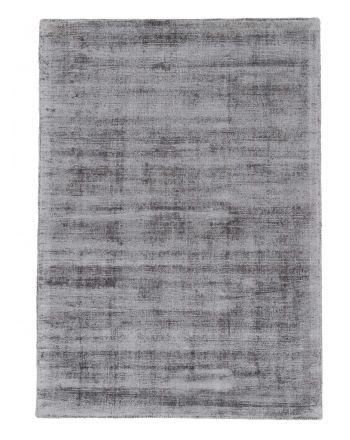 Viscose Rug Ava Light Grey