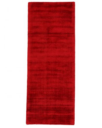 Viscose Rug Ava Runner Red