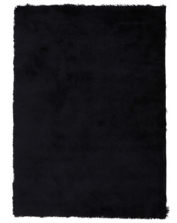 Shaggy Rug Breeze Black