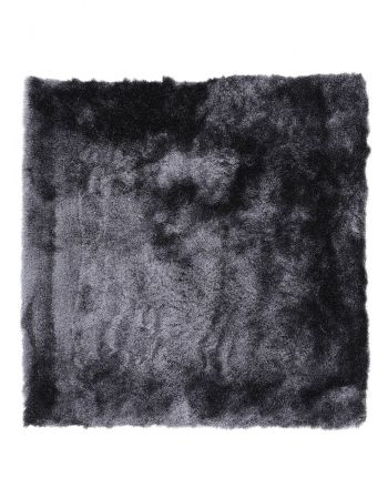 Shaggy Rug Luna Square Dark Grey