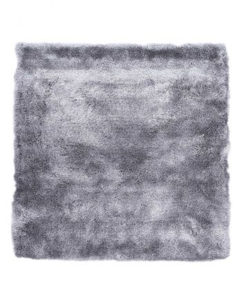 Shaggy Rug Luna Square Light Grey
