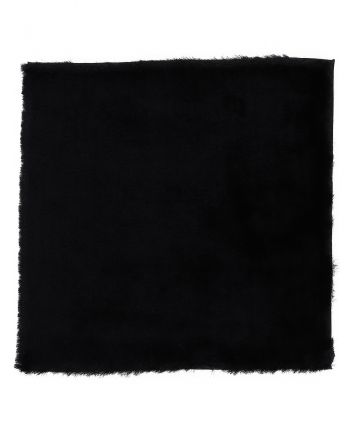 Shaggy Rug Luna Square Black