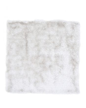Shaggy Rug Luna Square White