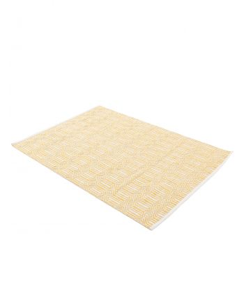 Flat Weave Rug Kilim Oregan Yellow