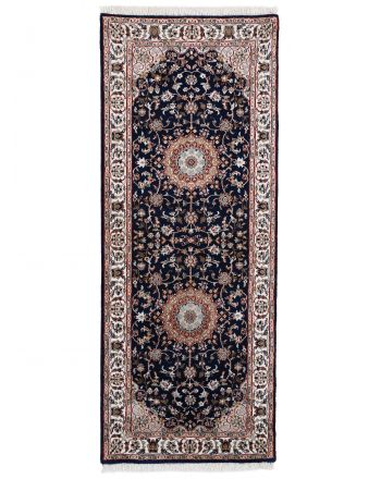 Nain Rug Runner Blue