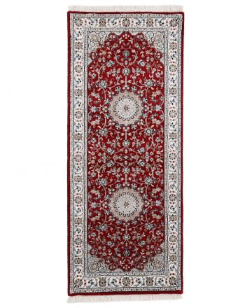 Nain Rug Runner Red