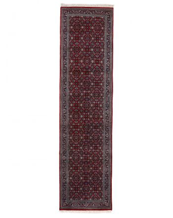 Herati Rug Runner Red