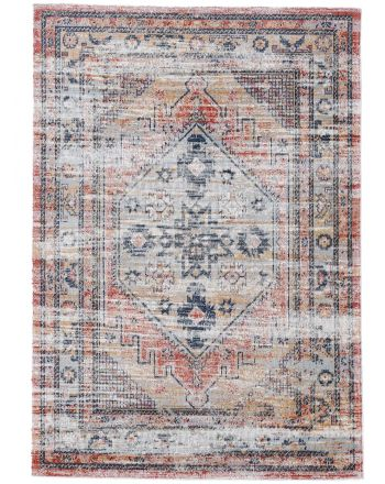 Flat Weave Rug Omen Orange