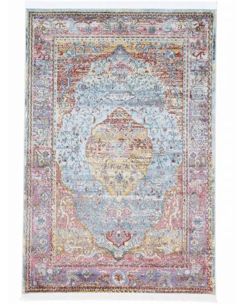 Vintage Esha Rug Multicolored