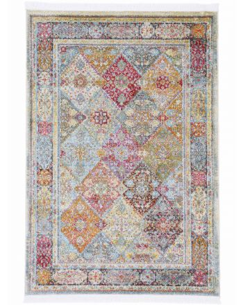 Vintage Harleen Rug Multicolored