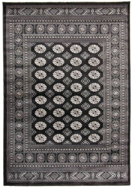 Buchara Rug Black