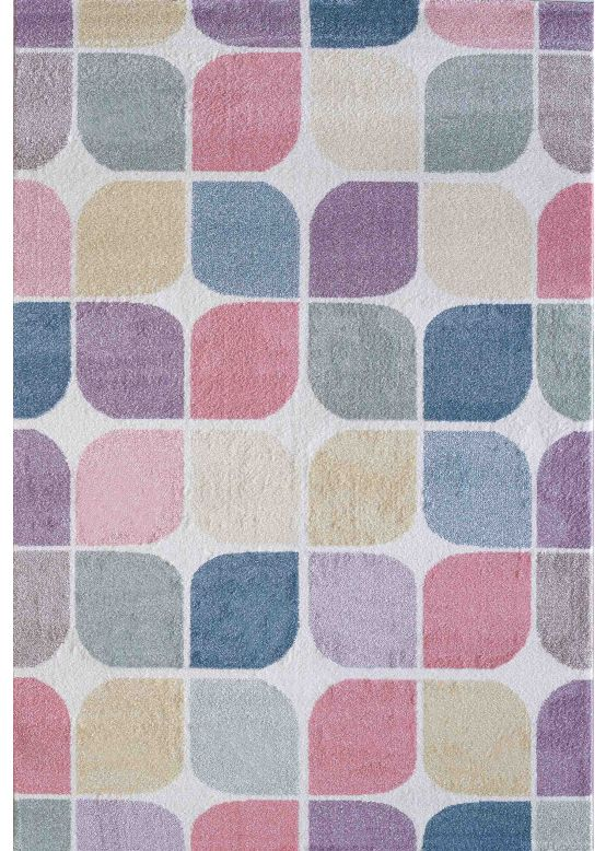 Geo Rug Multicolored