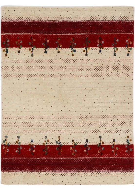 Wool Rug Loom Lori Red